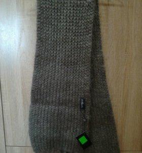 Новый шарф из козьего пуха