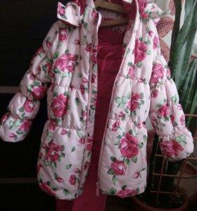 Комплект для модницы (куртка и брючки)