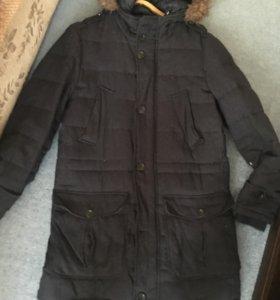 Зимняя куртка мужская mango