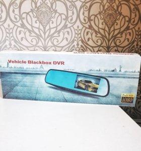 Зеркало-видеорег, Vehicle Blackbox DVR новый