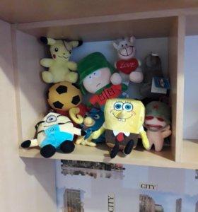 Продам мягкие игрушки из игрового автомата