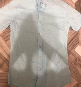 Рубашка(голубого цвета)