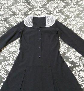 "Платье "" Яна "" вискоза синее рост 170 размер 46-48"
