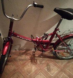 Срочно Велосипед stern travel (складной )