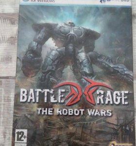 Диск с игрой- Battle Rage