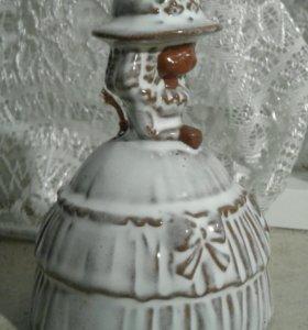 Фарфоровый колокольчик Германия