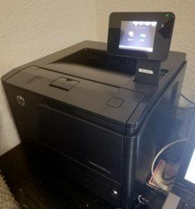 Лазерный принтер HP laser jet Pro 400