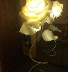 Ростовые цветы, светильники