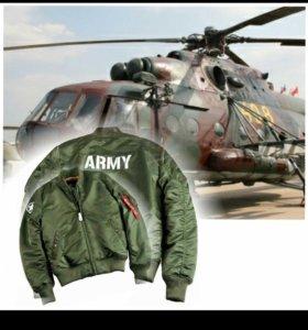 Бомбер Alpha industries MA-1 VF Army