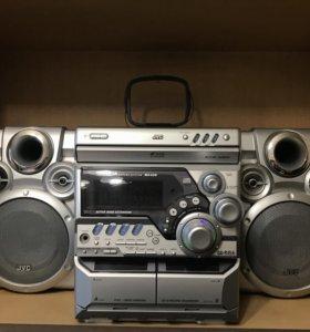 Музыкальный центр JVC MX-K5R