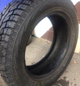 Почти новые зимние шины