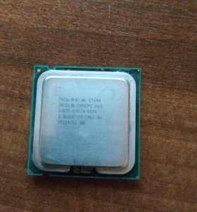 Процессор Intel core 2 duo e7600