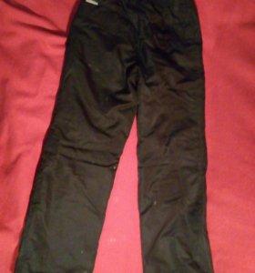 Зимние брюки на мальчика рост 128