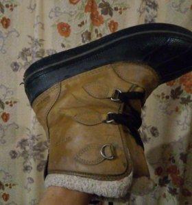 Зимние ботинки Crocs размер 37-38