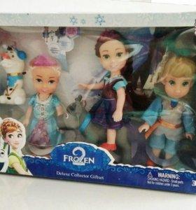 Набор кукол 5шт Frozen-2