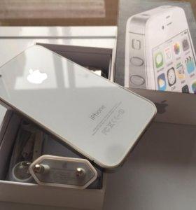 iPhone 4s/16гб Black. White. Доставка. Гарантия!