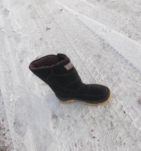 обувь теплая