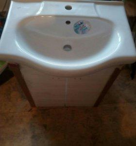 Тумба для ванной с раковиной