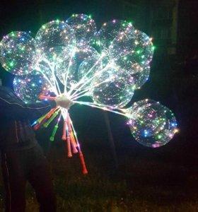 Шары бобо, bobo,светодиодные шары,светящиеся шары.