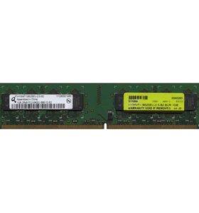 1 GB x 2 шт DDR2