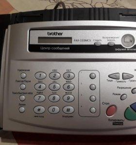Факс новый Brother Fax-335MCS