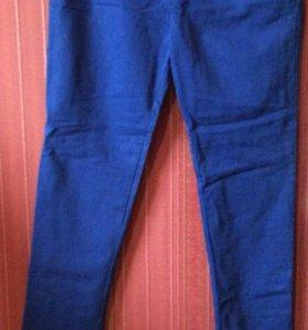 💥 Брюки мужские синие размер 34