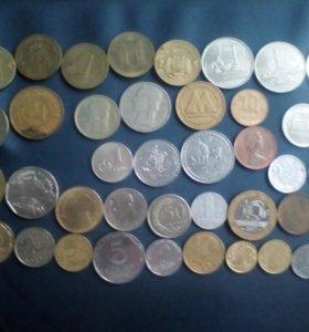 Монеты на обмен, возможно почтой