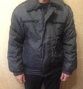 Куртка сотрудника полиции