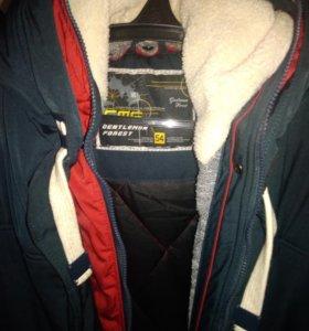 Тёплая куртка мужская