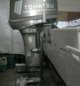 Продается лодочный мотор TOHATSU -35