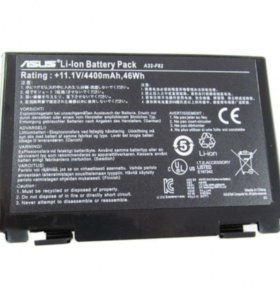 Батарея Asus A32-F82 4400mAhr 11.1V black