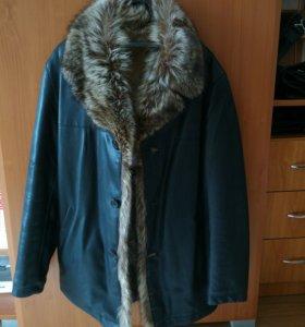 Мужская зимняя куртка(дублёнка)