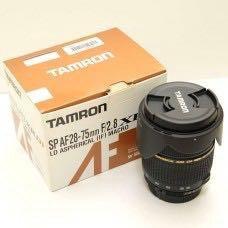 Tamron 28-75 mm f2.8 AF Nikon