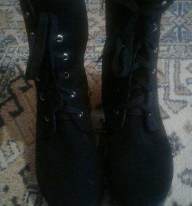 Новые ботинки.Зима.Размер 40.