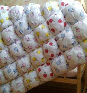 Пошив детского постельного белья, бортиков