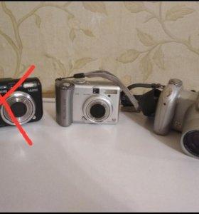 Фотоаппараты minolta и canon