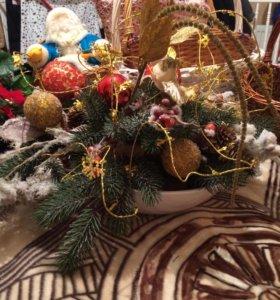 Новогодние сувениры гирлянда