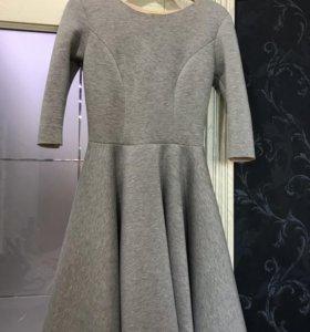 Платье серое, внутри розовое(мне не подошло)