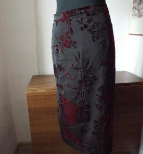 Классная юбка из панбархата.