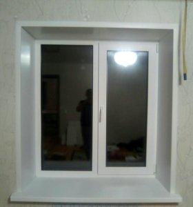 окно ПВХ двухкамерная