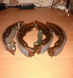 Колодки тормозные задние Matrix/Elantra Корея