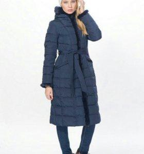 Пальто зимнее пуховик для девочки 40-42 размер