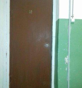 Дверь металлическая б.у.