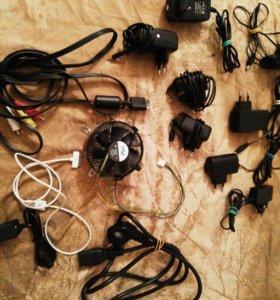 Зарядки и провода