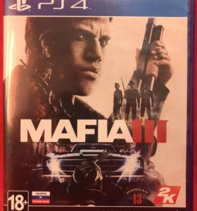 Игра PlayStation 4 (PS4) - Mafia III