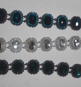 Новый сверкающий браслет (серебряный)