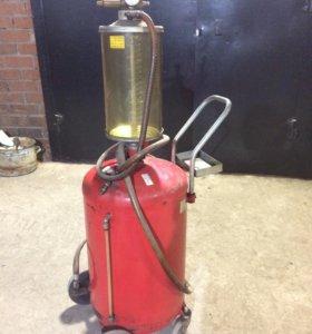 Apac установка для откачки и слива масла на 80 л.