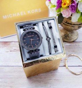 Женский набор от Michael Kors Часы и браслеты