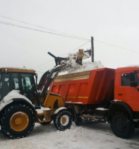 Уборка территории, вывоз снега