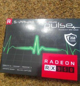 Видеокарта Radeon Sapphire RX550 Pulse